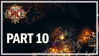 Path of Exile - Abyss League Lets Play Part 10 - Lunaris Temple