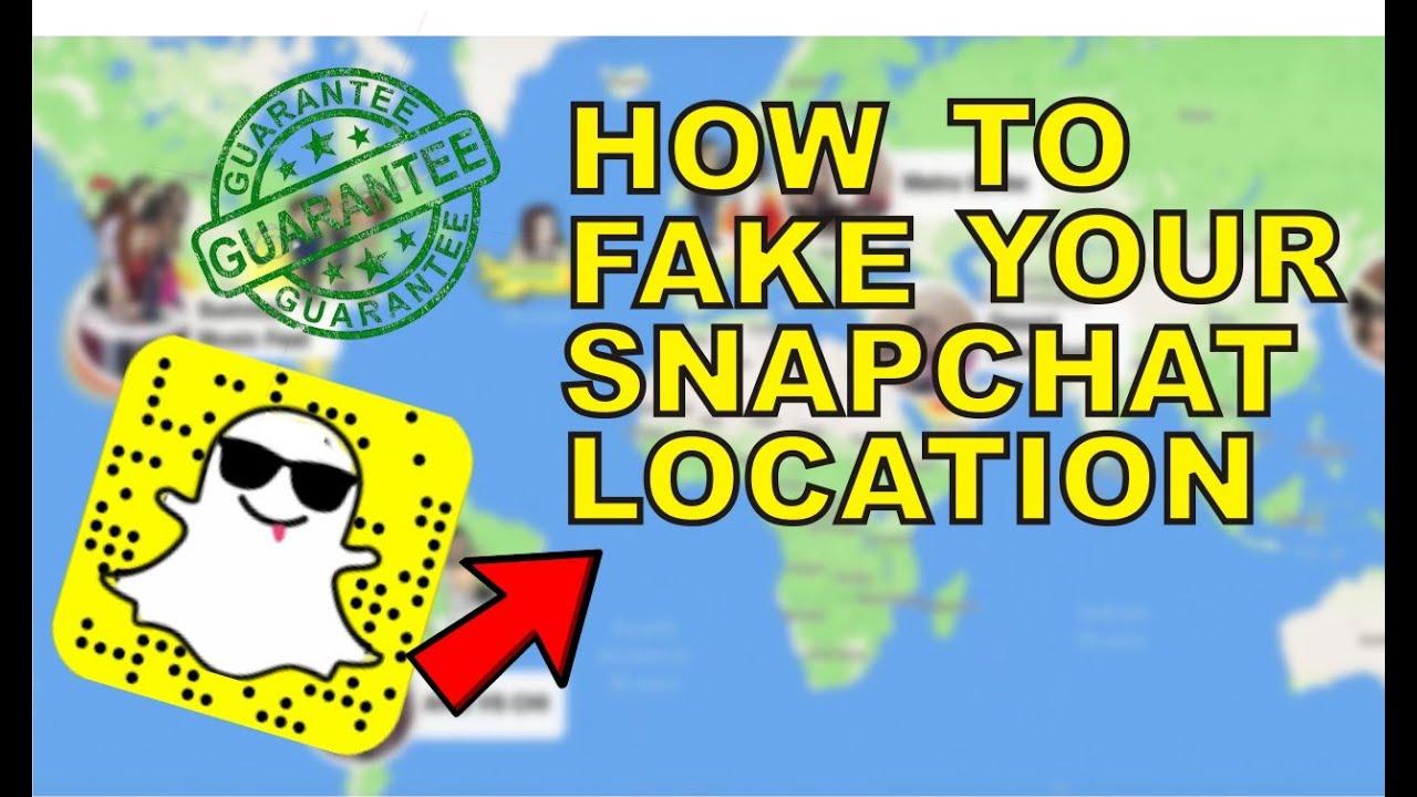 Faken iphone ort snapchat Snapchat: Standort