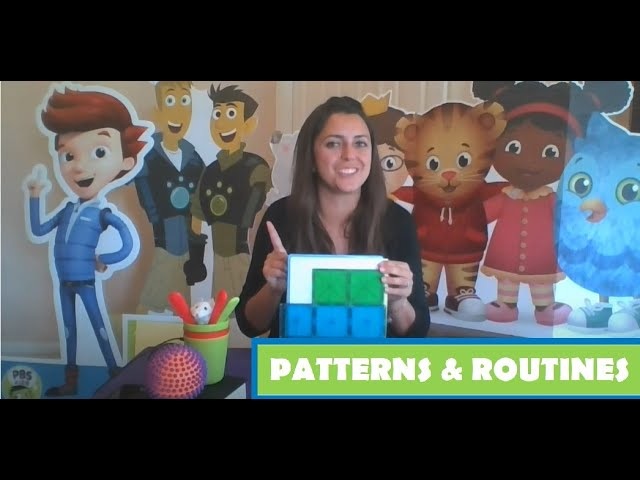 Stay & Play with PBS THIRTEEN: Patterns and Routines I OCT 9, 2020