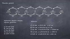 Pituuden ja pinta alan yksiköt ja niiden muunnokset