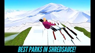 The BEST PARKS In SHREDSAUCE ! | Featuring Shredsauce Community Park