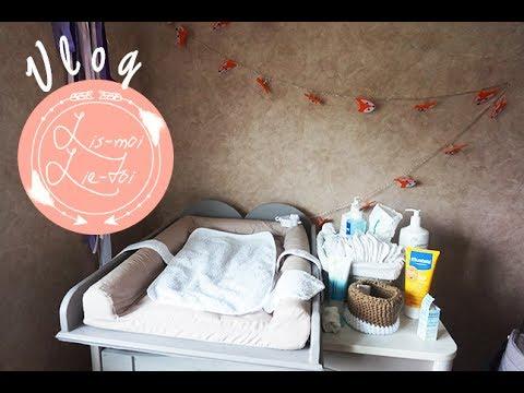 vlog l 39 organisation de ma table langer youtube. Black Bedroom Furniture Sets. Home Design Ideas