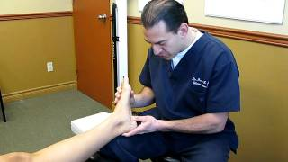 Treating Heel Spurs and Plantar Fasciitis with Active Release Techniques