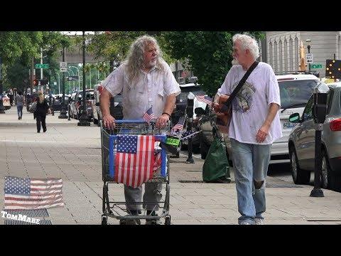 Homeless musicians put Florida Georgia Line to SHAME!