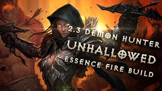 Best 2.3 Demon Hunter Unhallowed Essence Build & Gear - Diablo 3 Reaper of Souls Guide