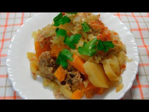 Дамлама - вкусное блюдо узбекской кухни