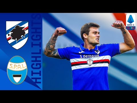 Sampdoria 3-0 SPAL | Linetty Nets Twice In 3-Goal Victory | Serie A TIM