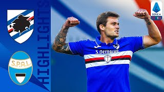 Sampdoria 3-0 SPAL | Linetty Nets Twice as Sampdoria Seal Huge 3-Goal Victory | Serie A TIM