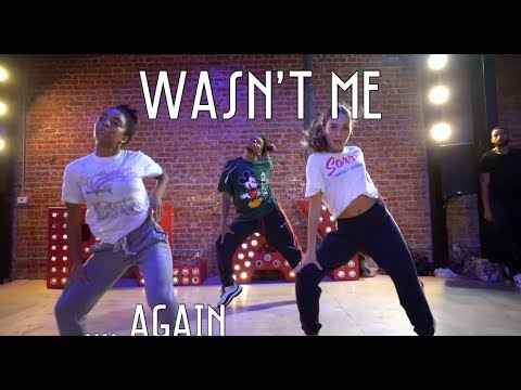 WASNT ME  CLASS VIDEO FT. MADDIE ZIEGLER,  CHARLIZE GLASS & NICOLE LAENO #DEXTERCARRCHOREOGRAPHY