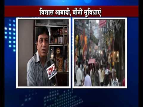 Hirendra A2z news tiktek with Jagdish Mamgain, omesh saigai on delhi population