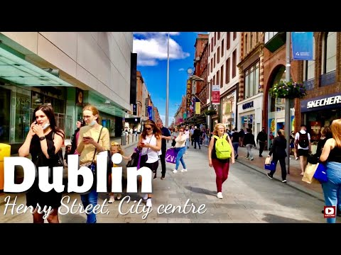 Dublin City Centre after lockdown Relaxation | Happy days are Back| Abbey & Henry street Walk