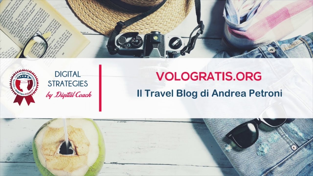 Vologratis org, il Travel Blog di Andrea Petroni
