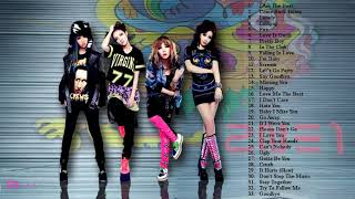 Best Of 2NE1| 2NE1 Greatest Hits | 2NE1 Playlist 2018