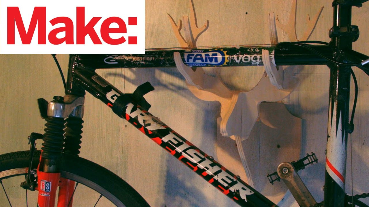 Cnc Deer Trophy Bike Rack Youtube