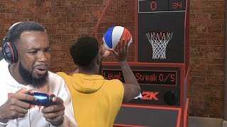 Ben Simmons Brought A Mini-Hoop To My Court! NBA 2K19 MyCareer Ep. 33