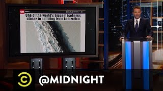 Extended - There's a New Iceberg in Town - @midnight with Chris Hardwick - Uncensored