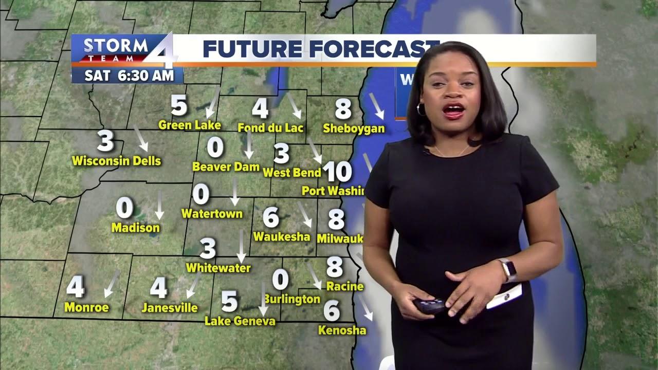 Flurries today, snow tomorrow
