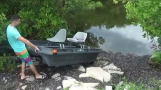 Video Fishing On Bass Hunter Bass Baby 2hp Suzuki download MP3, 3GP, MP4, WEBM, AVI, FLV Oktober 2018