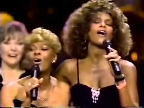 DIONNE WARWICK AND WHITNEY HOUSTON 1990 Arista
