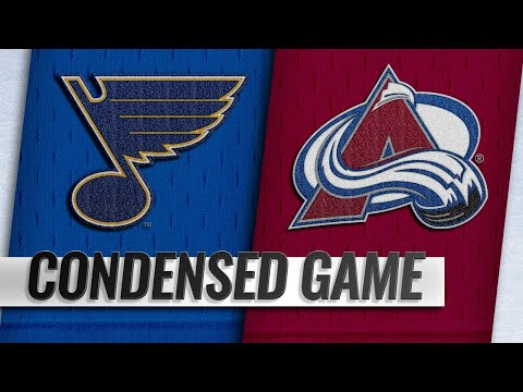 02/16/19 Condensed Game: Blues @ Avalanche
