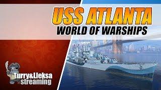 на чем качать кэпа для новой ветки ⚓ uss atlanta world of warships