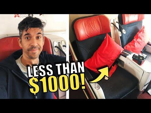 Premium Flatbed Under $1,000? Air Asia X Review