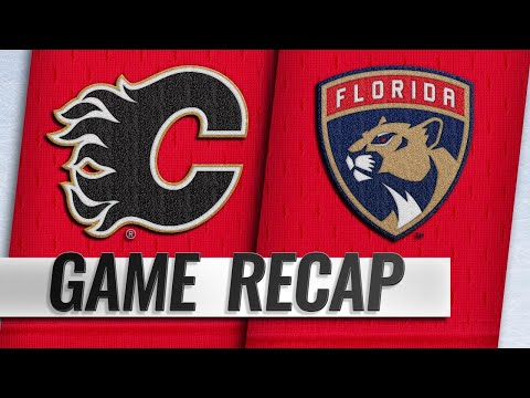 Panthers weather Flames' rally to win in SO, 3-2