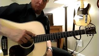 Martin Outlaw 17 amplified demo with K & K Pure Western Mine / Pure XLR Preamp