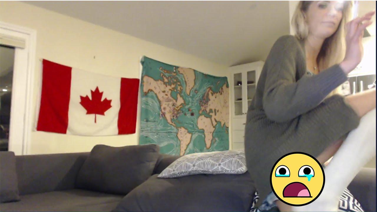 FEMALE STREAMER SHOWS HER VAGINA?!?! - YouTube