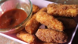 Crispy Paneer Fingers Recipe - Kids Friendly Recipes