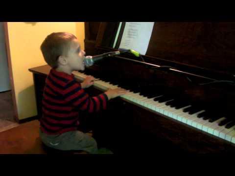 Fionn Singing Pete Seegers Abiyoyo