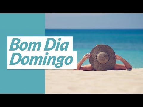 Video Mensagem de Bom Dia Feliz Domingo.