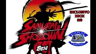 Samurai Shodown Sen - Xbox 360 HD - Gameplay Comentado