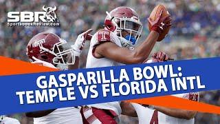 Free College Football Picks   Temple vs FIU   Gasparilla Bowl Betting Predictions