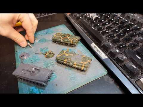 Hobby Video  Team Yankee  BMP1  BMP2  BMP1P build