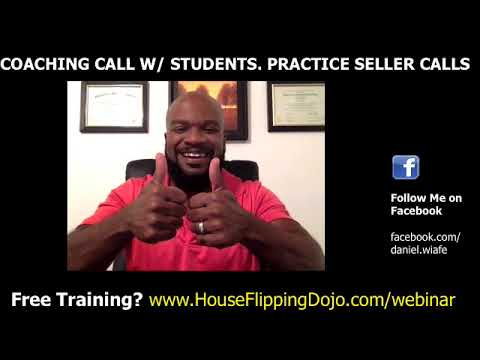 SELLER CALL TRAINING : How to Wholesale Houses