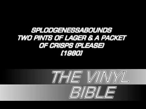 Spodgenessabounds - Two Pints Of Lager & A Packet Of Crisps (Please) [1980] - DERAM