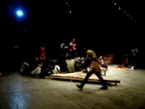 Stage Play KittonKhola, Playwrite  Selim Al Deen, Direction Sumon Adibasi, Part 01