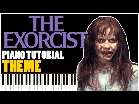 The Exorcist Theme (Piano Tutorial Synthesia)