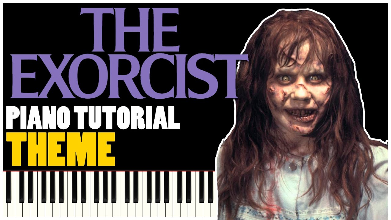 how to play the exorcist theme on piano