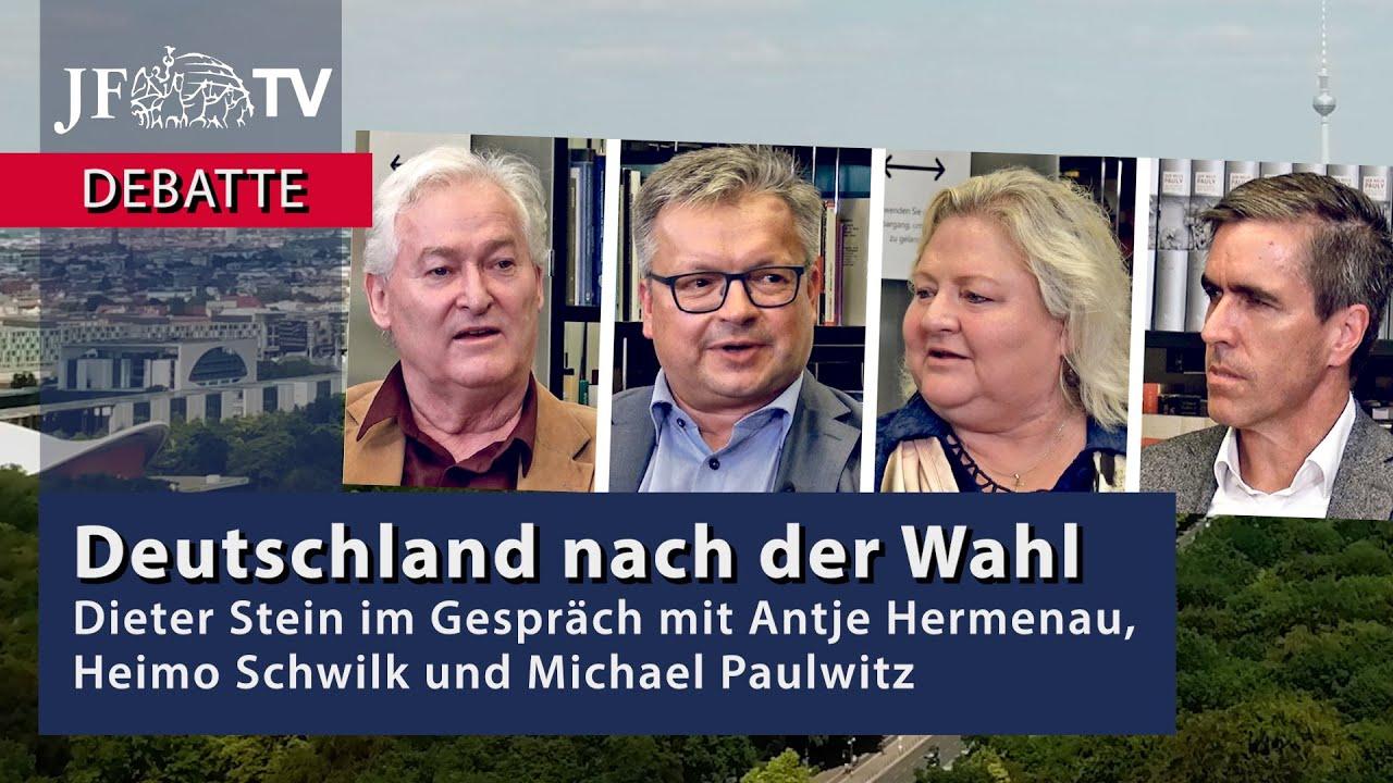 Hat die AfD ihren Zenit überschritten? - Deutschland nach der Wahl (JF-TV Debatte)