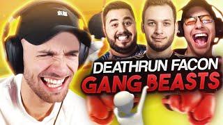 DEATHRUN FAÇON GANG BEASTS ! 🏁 (Human Fall Flat ft. Locklear, Doigby, Mickalow)