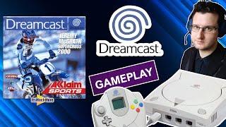 Jeremy McGrath Supercross 2000 | Sega Dreamcast | Gameplay HD VGA