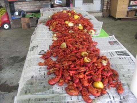 How to BBQ boil Crawfish Cajun Style