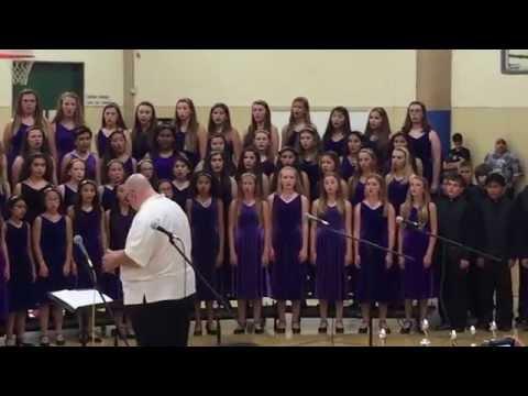 Castillero Middle School Concert Chorale Spring Concert 2015