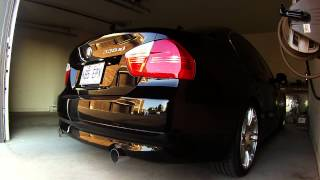 BMW N54 335xi Performance Exhaust - Cold Start-Up and Revvs