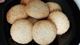 Coconut cookies, eggless cookies  (bakery style) by Delicious food recipes