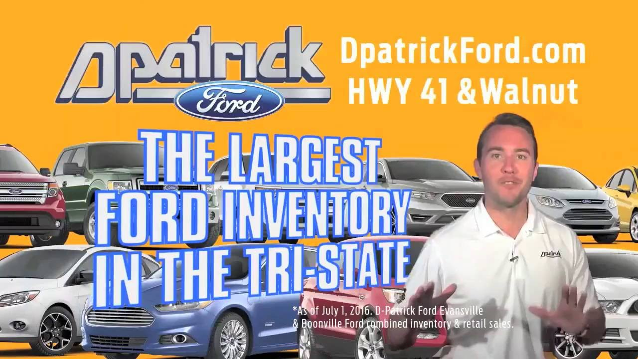 D Patrick Downtown Ford The August Deals