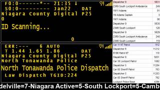 01/22/18 PM Pt.2 Niagara County Police & Fire Scanner Stream Fire Wire