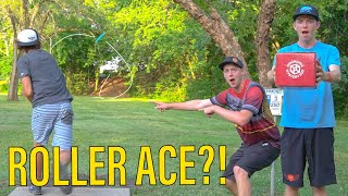 INCREDIBLE ROLLER ACE 🤯!! (Discmania Mystery Box Edition)